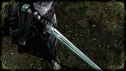 Blessed Silver Sword 2 by RonnieTheBlacksmith