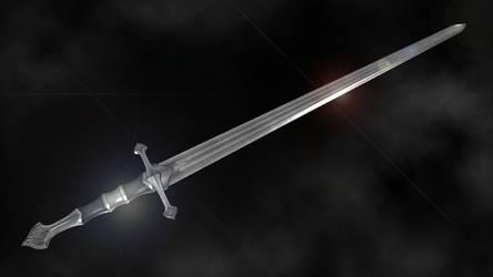 Fine Steel Sword by RonnieTheBlacksmith