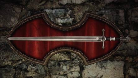 Fine Steel Sword 2 by RonnieTheBlacksmith