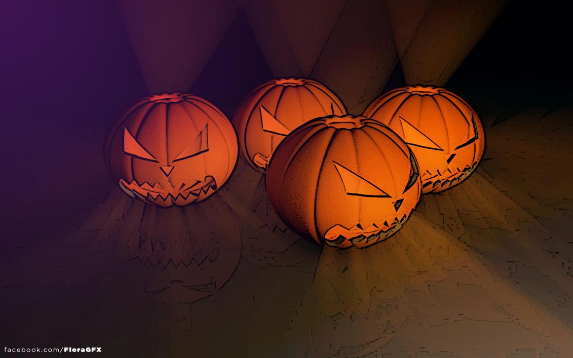 Halloween pumpkin by Flora332