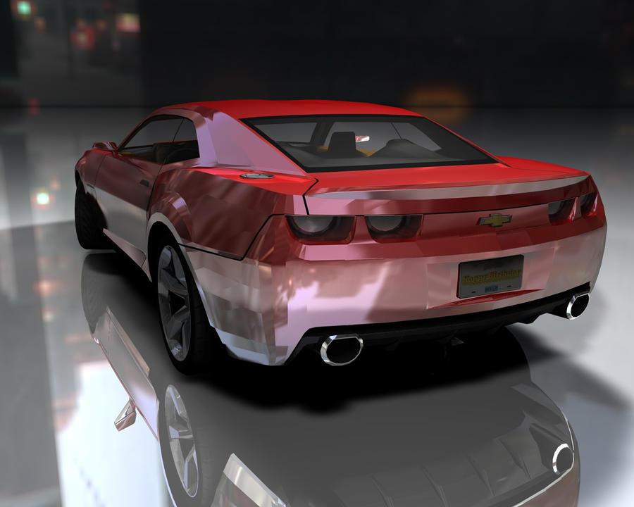 Chevrolet Camaro Back Side By Jm Dg On Deviantart