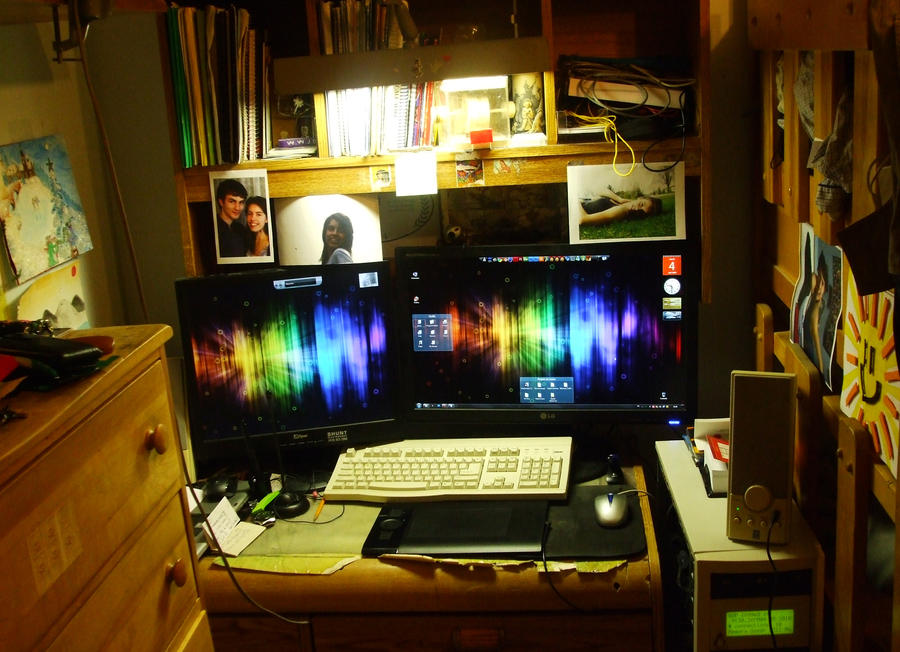 My workspace, May 4 2010