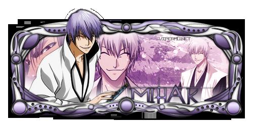 Ichimaru Gin Sign by SkyMaster7