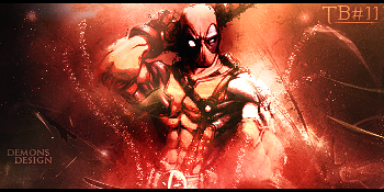 Dead Pool GFX Sign by SkyMaster7