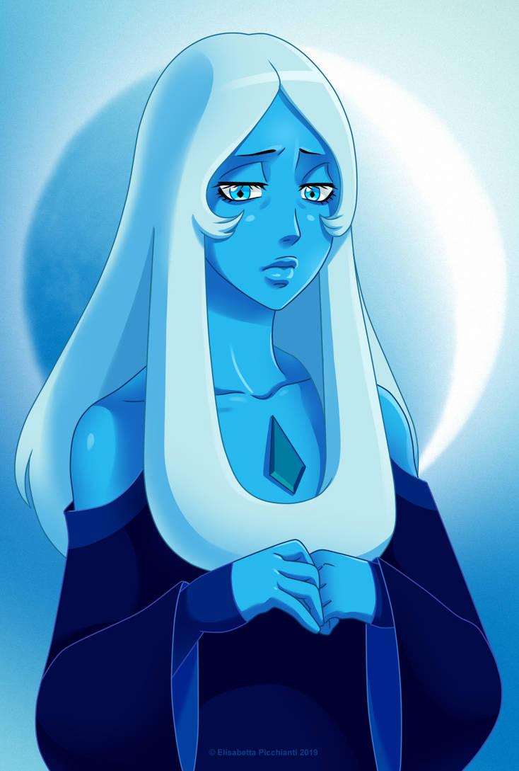 Blue Diamond from Steven Universe. OTHER STEVEN UNIVERSE FANARTS: Stevonnie: www.deviantart.com/eli-pic/art… Pink Diamond: www.deviantart.com/eli-pic/art… Yellow Diamond: www.devianta...