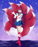 [COMMISSION] Ranma Sailor Fox by Eli-Pic