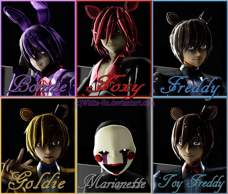 Shipping For Female Fnaf Crew By White-Hu On DeviantArt