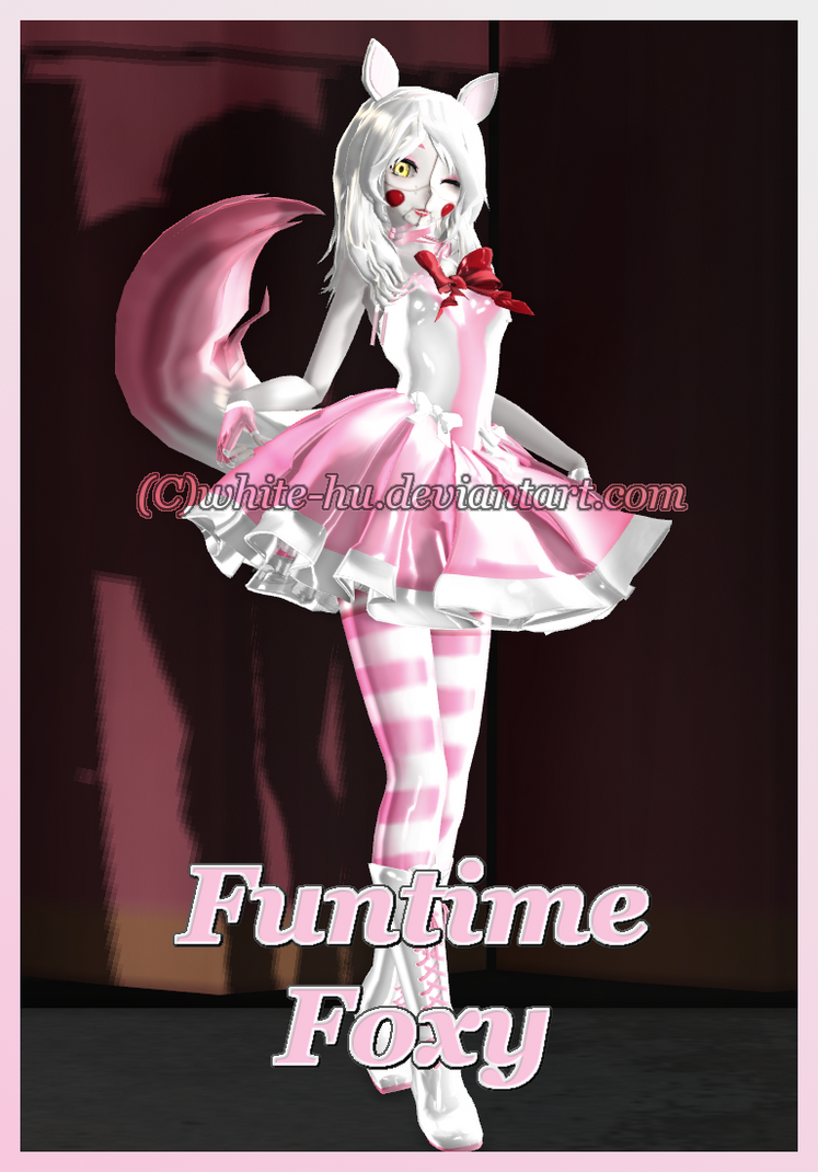 fnaf sl funtime foxy  updated  by white