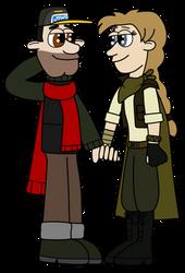 Joe and Inaya by EtherealDreamCloud