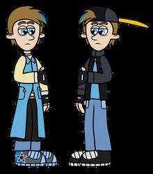 NfH OC redesign - Blaine (2 versions)