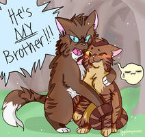 Hawkfrost's brother by galienyancats