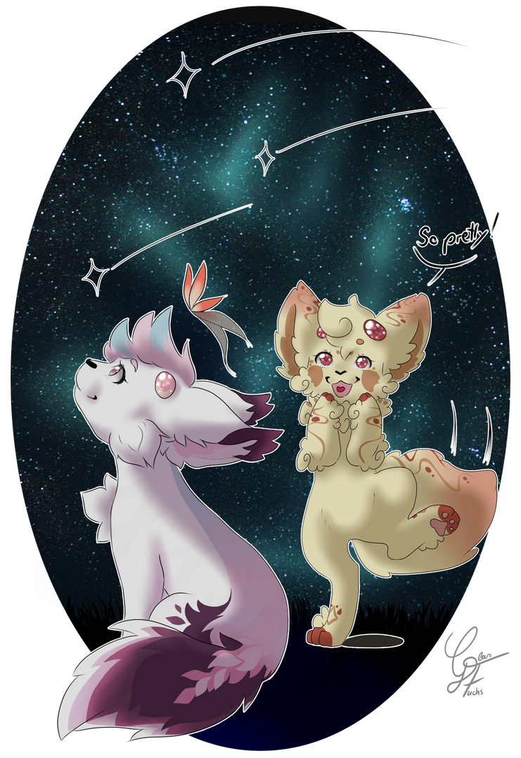 [Prompt Entry] Starfall gifting by Glas-Fuchs