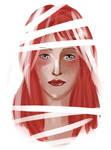red headed beauty