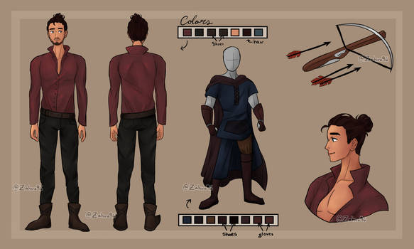 Santiago (Reference sheet commission)