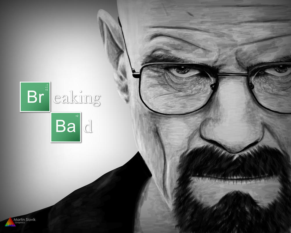 Walter White Breaking Bad Drawing
