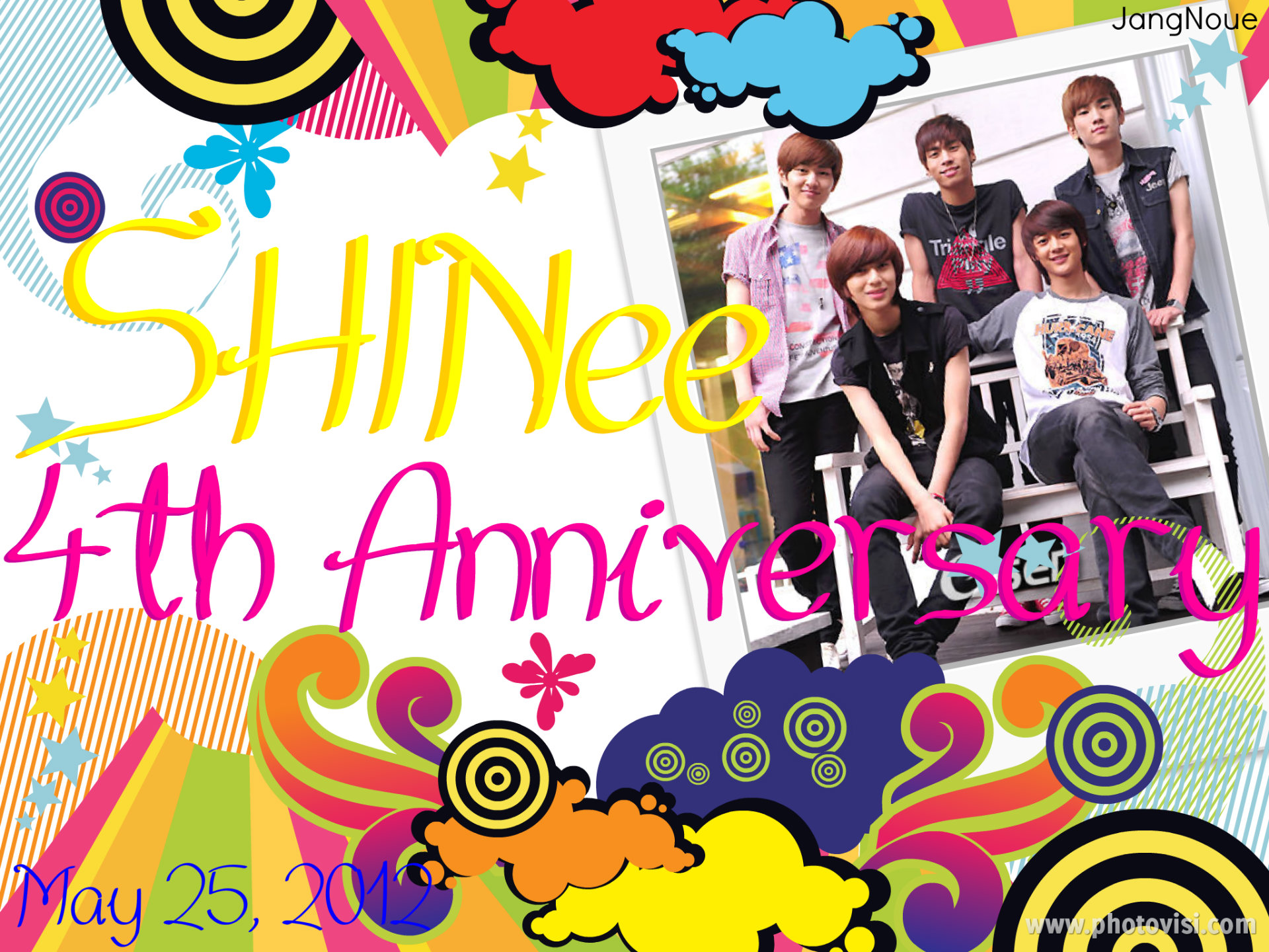 SHINee 4th Anniversary by JangNoue