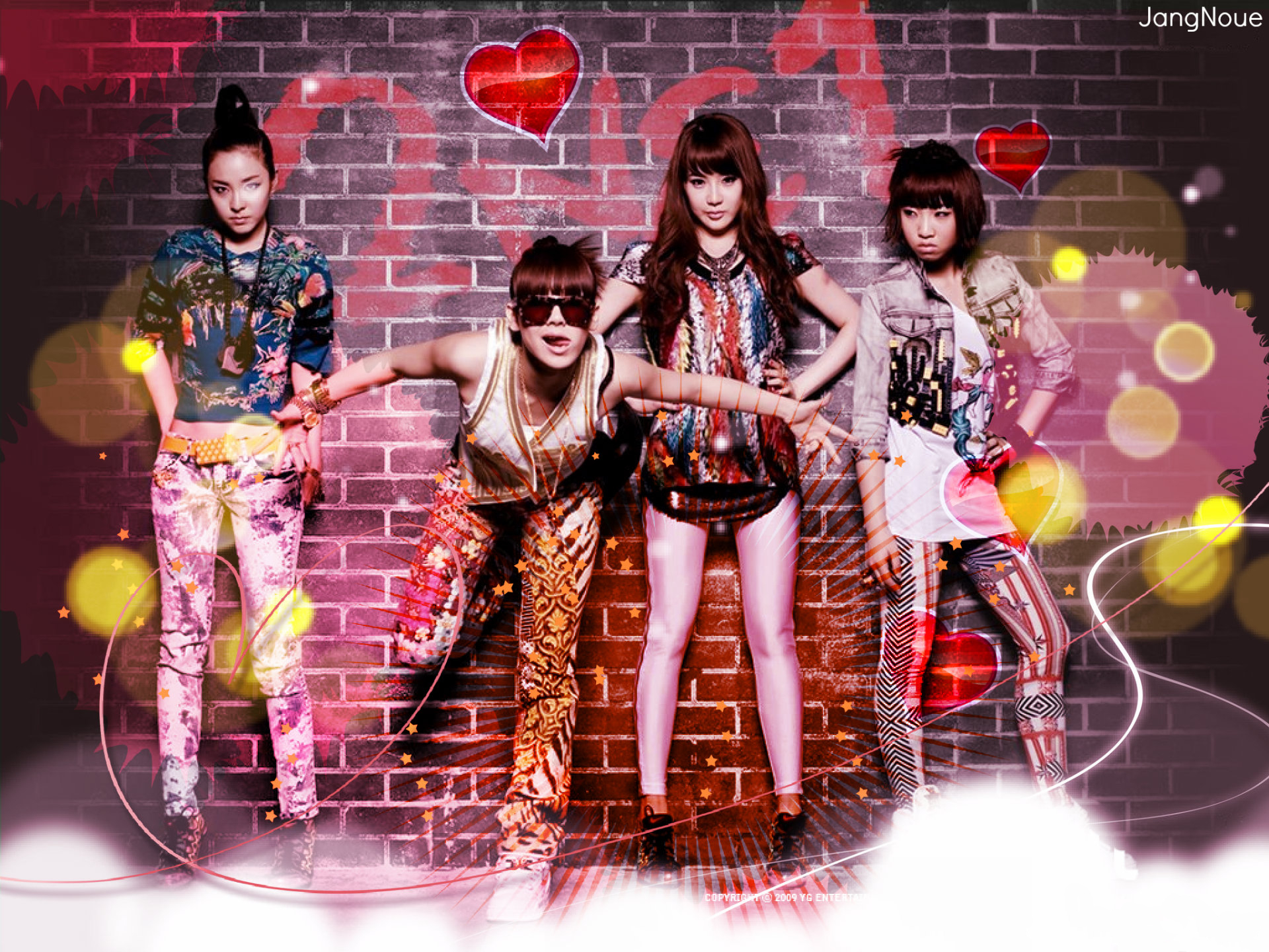 Fierce 2NE1 by JangNoue