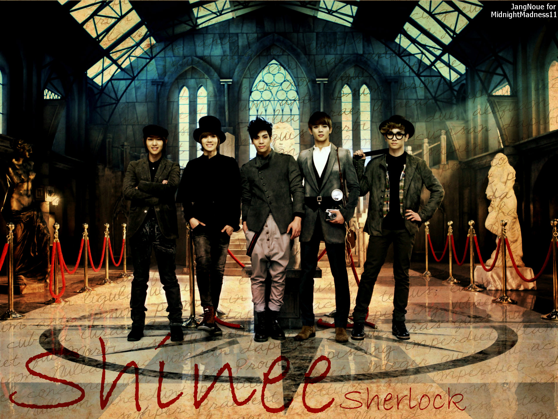 Sherlock Fan Art Wallpaper Shinee Sherlock By Jangnoue Dhlw