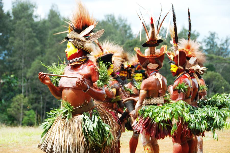 Huli Tribe Papua New Guinea