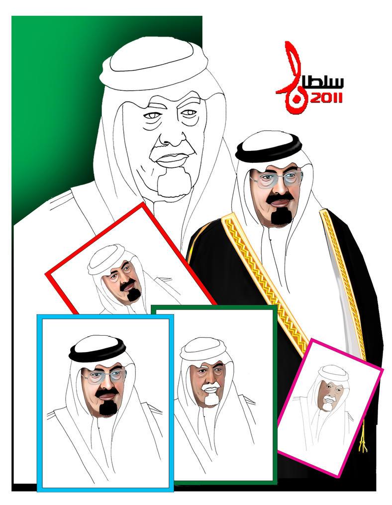 King Abdullah by sultan999
