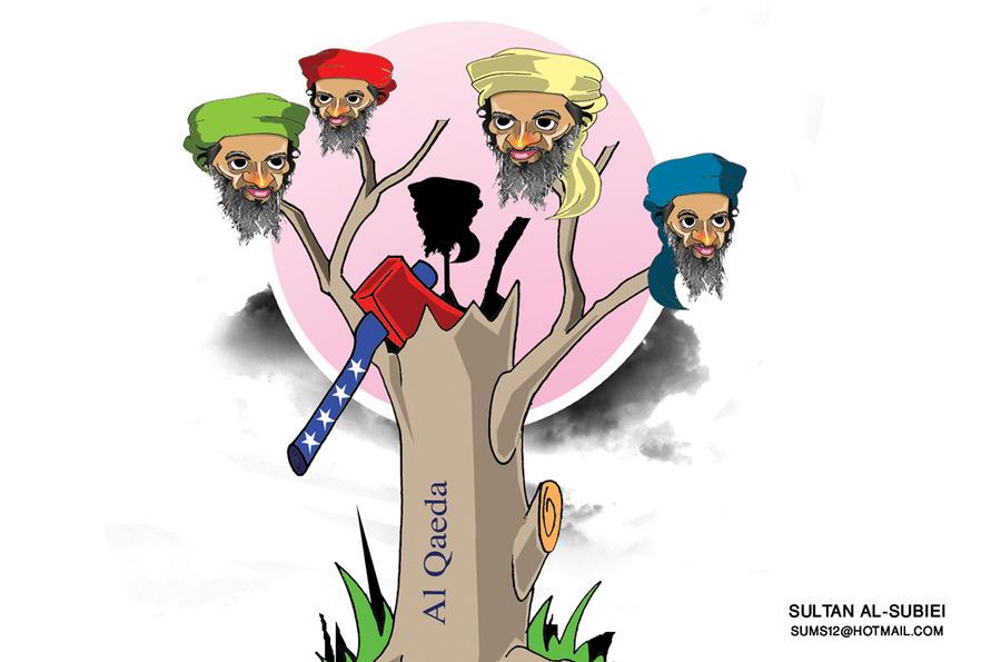 Osama bin Laden by sultan999