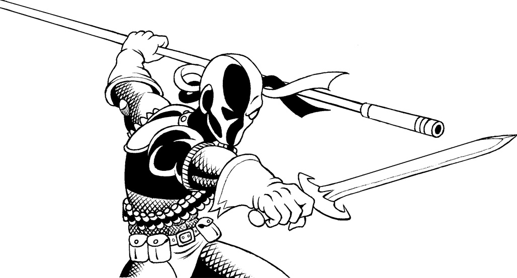 coloring pages of deathstroke costume - photo#13