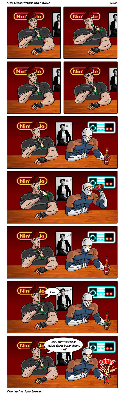 Two Mercs Walked into a Bar... by Mystic-Forces