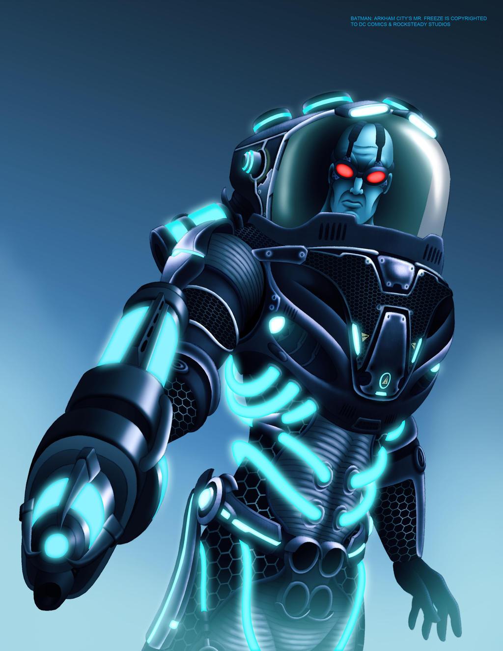 Mr Freeze Arkham City By Mystic Forces On Deviantart