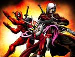 MvC3 - Red Hot Devils