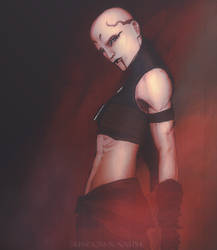 Asajj Ventress by SundownNative