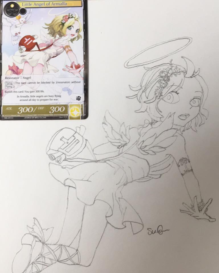 Little Angel by swgunn