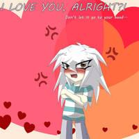 Bakura Valentine by Lazy-Gamer