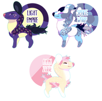 mini whisp adopts (open!) by mabufula
