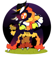 halloween mantifuzz auction- open! by mabufula