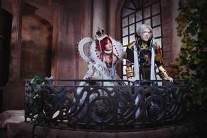 Trinity Blood - Balcony by Faeryx13