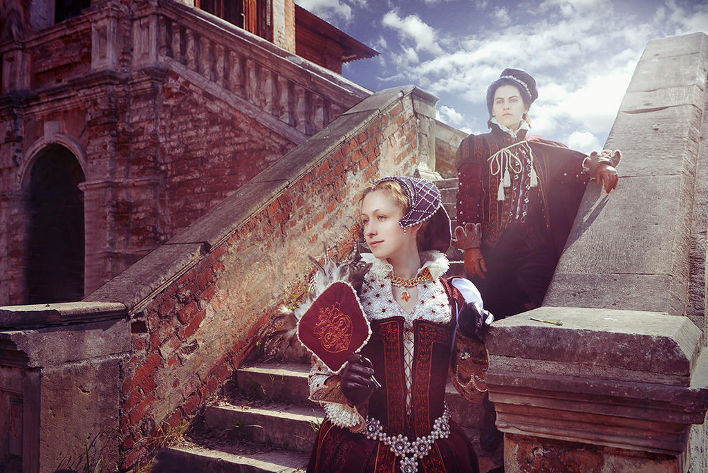Renaissance Couple by Faeryx13