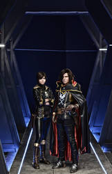 On Board - Space Pirate Captain Harlock by Faeryx13