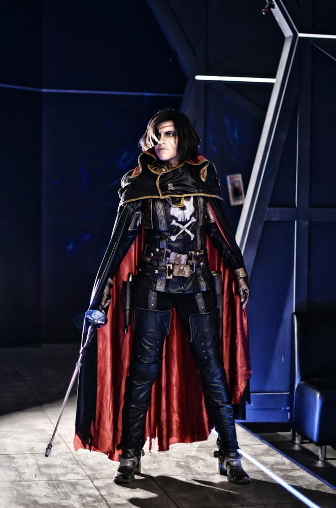 Captain Harlock by Faeryx13