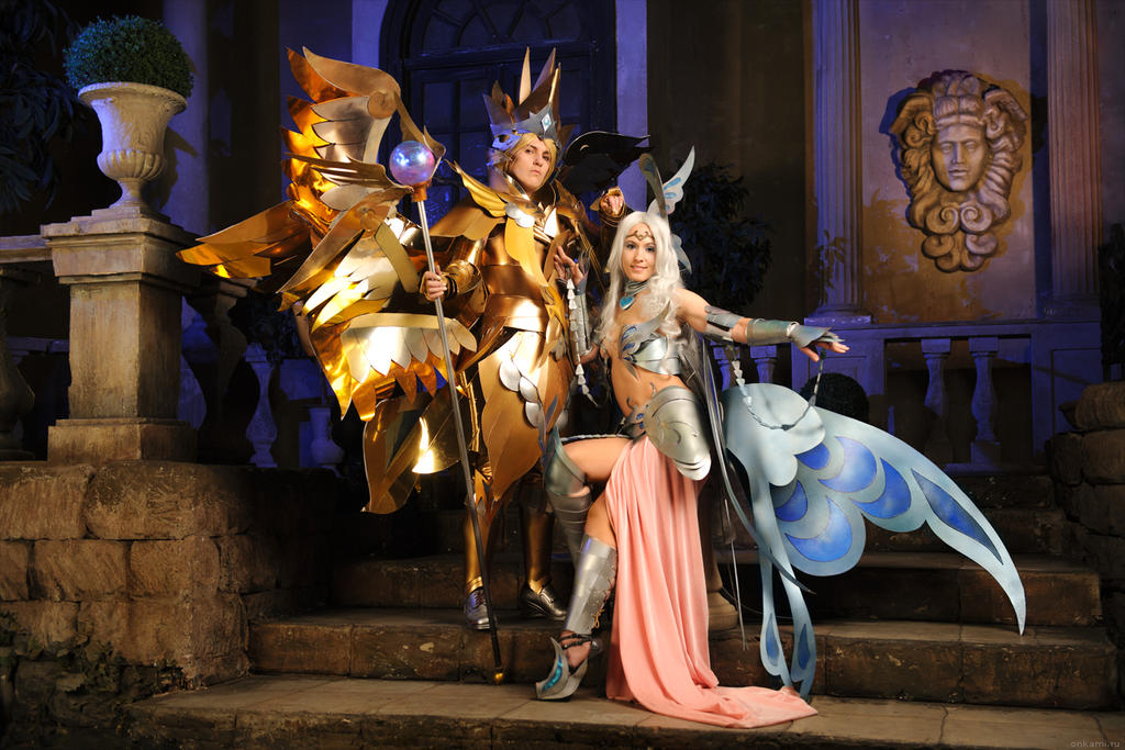 Zeus and Aphrodite by Faeryx13