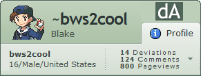 Profile - 800 pageviews by bws2cool