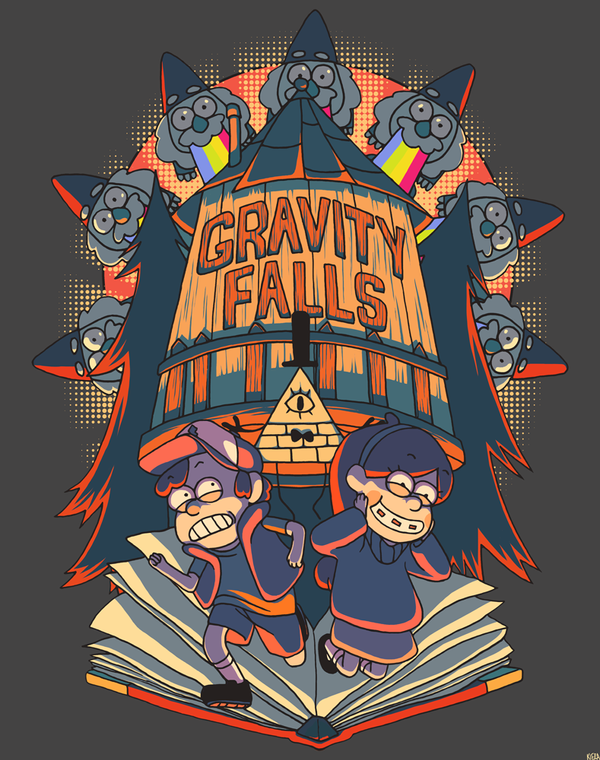 Welcome to Gravity Falls by Borderline-lala-land