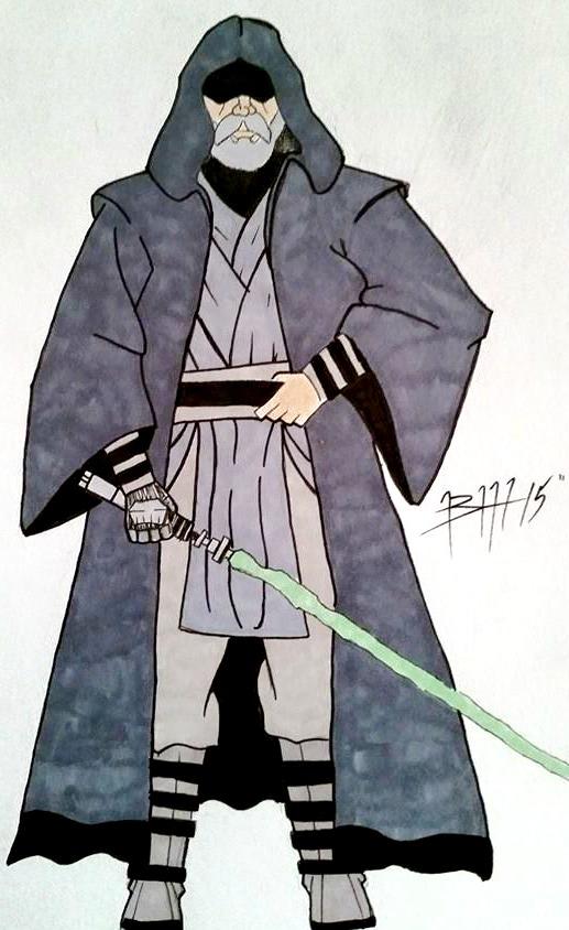 Grand Master Skywalker by B-RizzleXXXX