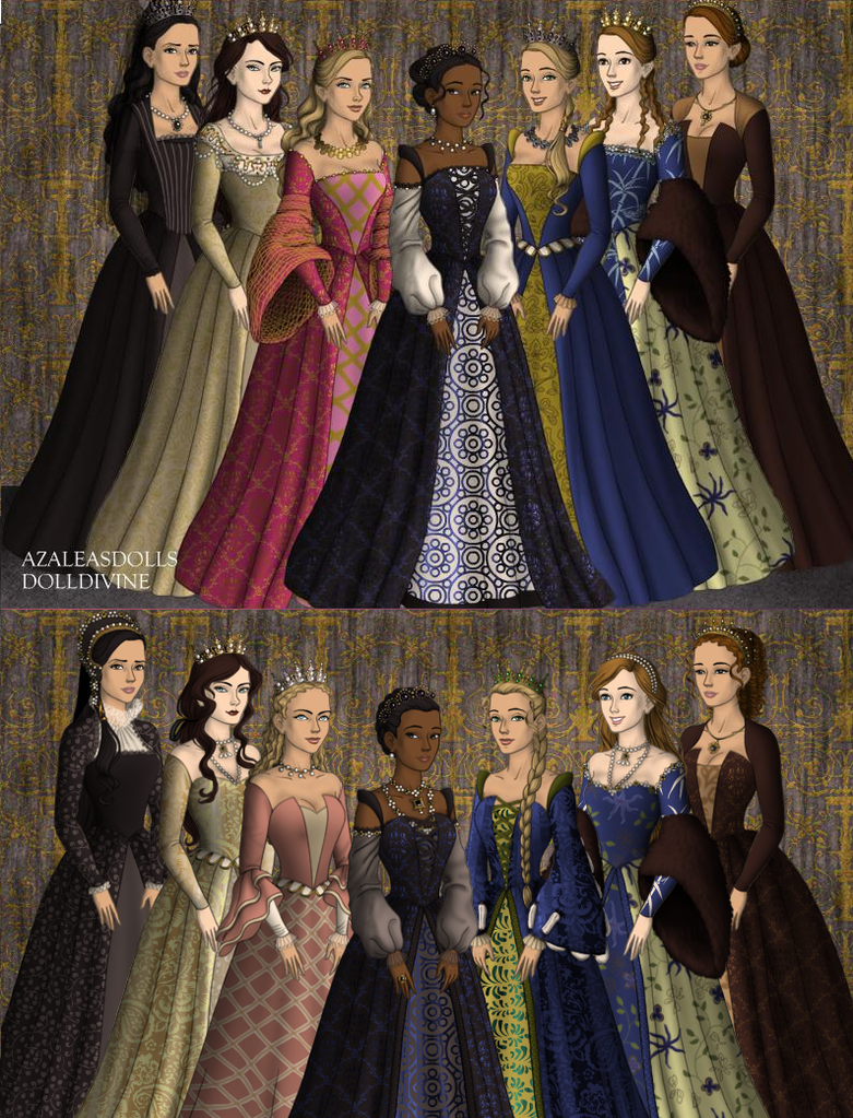 Untitled Tudors revamp Comparison by Shonz1516
