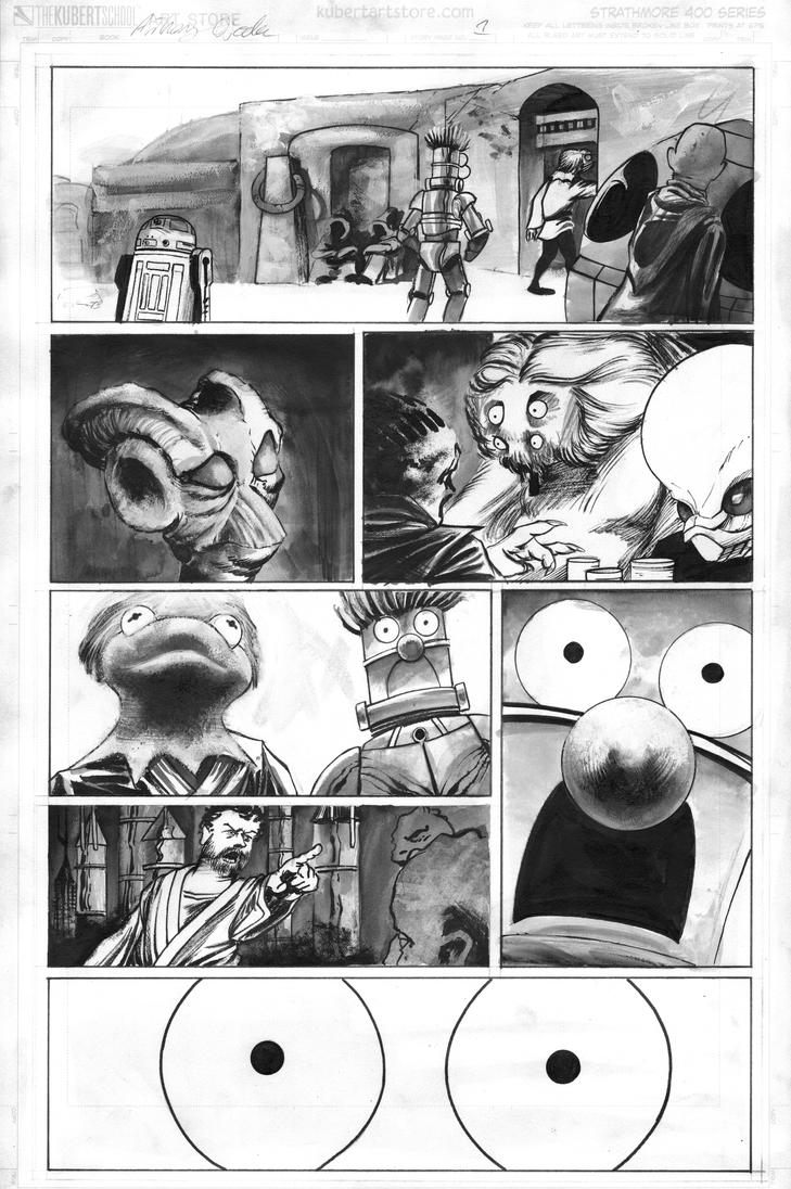 StarWars Muppets pg1 by TonyOjeda