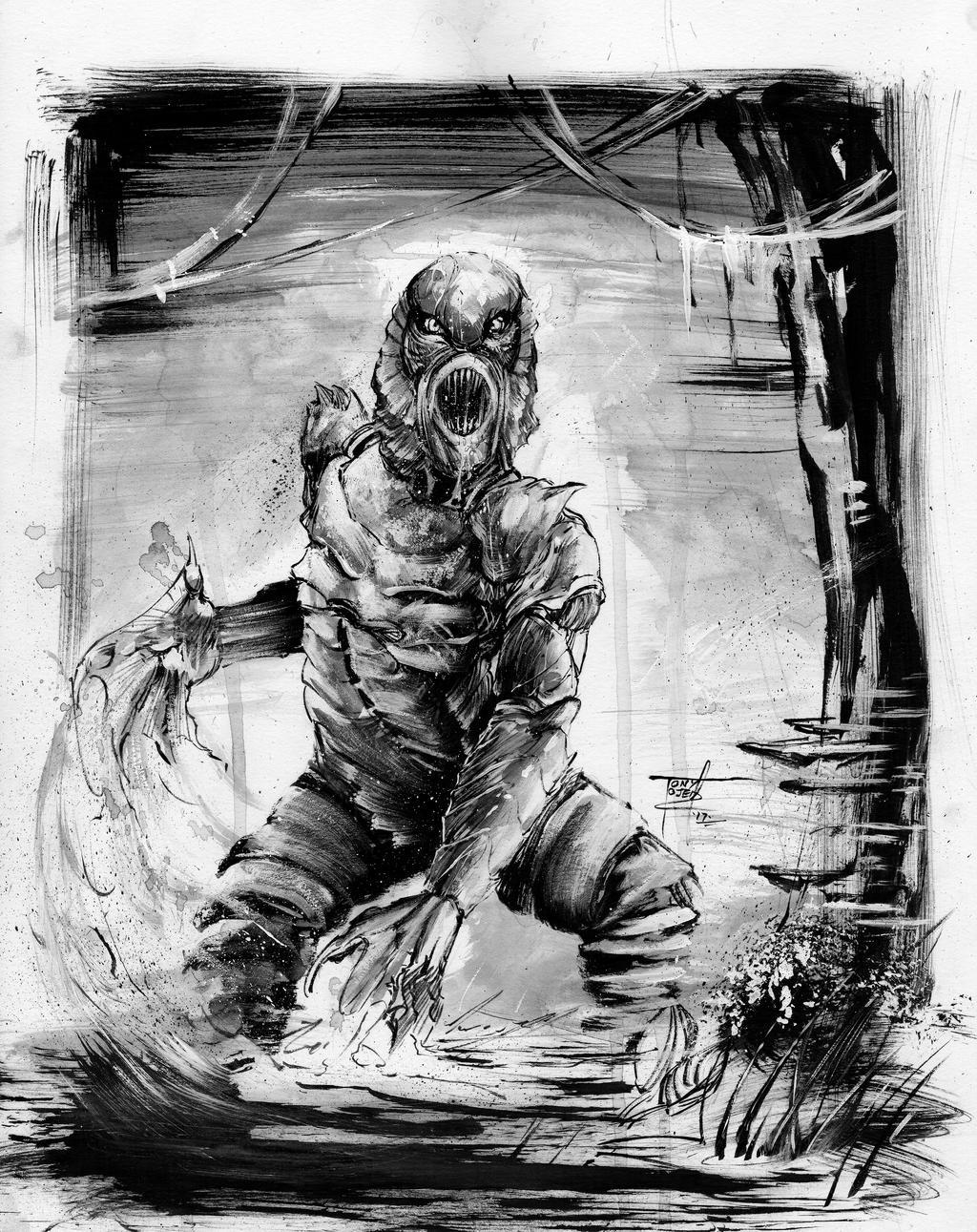 Creature From the Black Lagoon by TonyOjeda