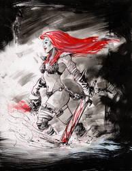 Red Sonja by TonyOjeda