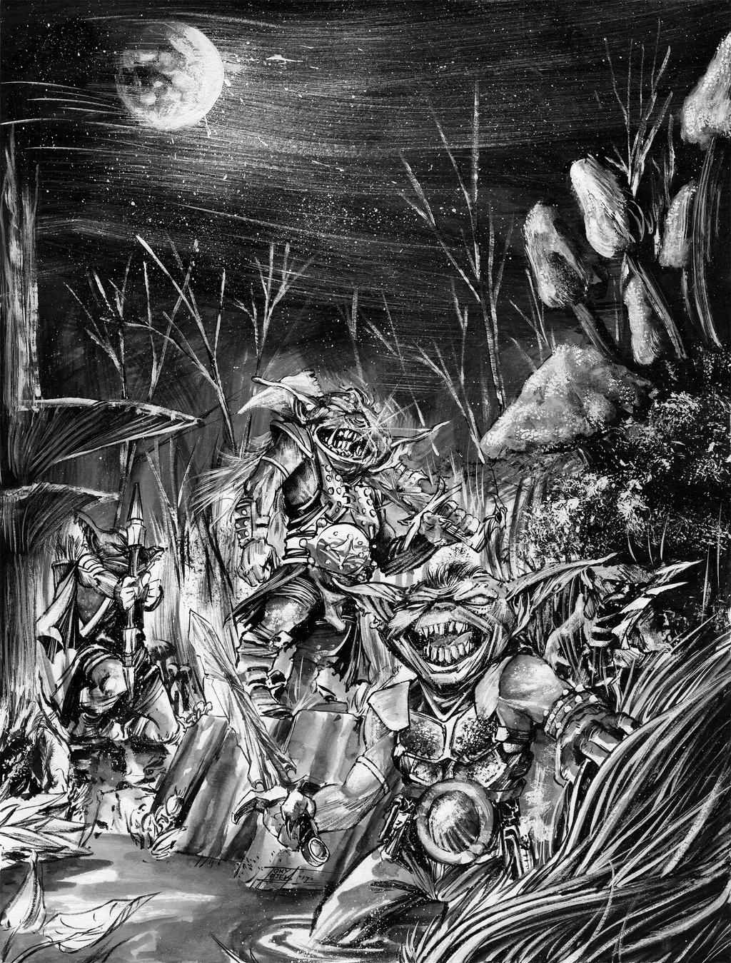Goblins by TonyOjeda