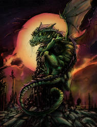 Dragon Color by TonyOjeda