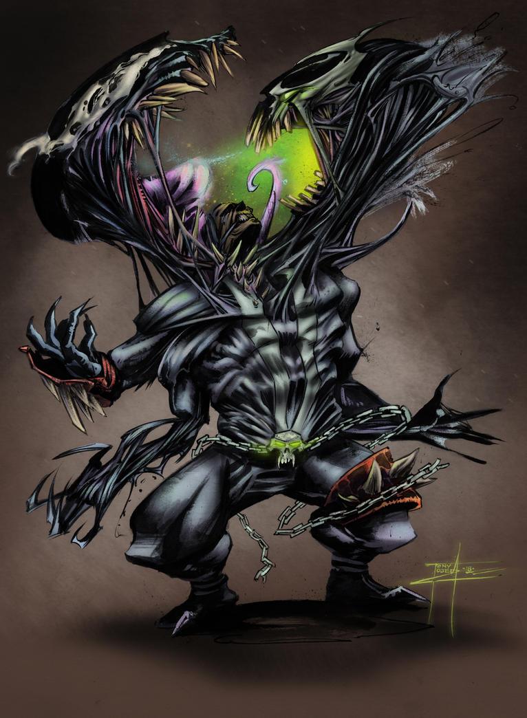 Spawn Vs Venom by TonyOjeda