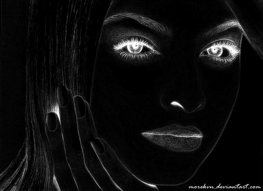 Black Lady Smooch 2 by morekvn